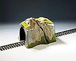 Single Track w/Cut Stone Portal -- G Scale Model Railroad Tunnel -- #67660
