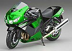 Kawasaki ZX-14R -- Diecast Model Motorcycle -- 1/12 scale -- #57433b