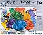 Smithsonian Large Crystal Growing Kit