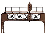 2-Trk Signal Bridge US&S - HO-Scale
