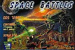 Space Battles Walker Warmachine Armadill & Cyborg -- Platic Model Figure -- 1/72 Scale -- #dds72001