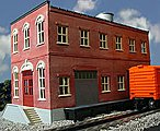 Homestead Furniture Co. 2-Story Building Kit -- O Scale Model Railroad Building -- #443