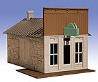 General Store 1-Story Building Kit -- O Scale Model Railroad Building -- #502