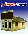2nd Chance Dry Goods 1-Story Building Kit -- O Scale Model Railroad Building -- #504