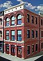 Burke 3-Story Building Kit -- O Scale Model Railroad Building -- #873