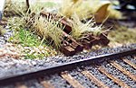 Scenic Ties -- HO Scale Model Railroad Trackside Accessory -- #1044