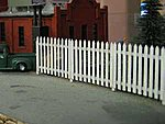 Residential Fence -- N Scale Model Railroad Building Accessory -- #3014