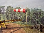 Wind Sock Kit -- N Scale Model Railroad Building Accessory -- #3092