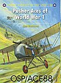 Pusher Aces of WWI -- Military History Book -- #ace88