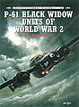 Combat Aircraft - P61 Black Widow Units of WWII -- Military History Book -- #ca8