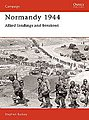 Normandy 1944 Allied Landings and Breakout -- Military History Book -- #cam1