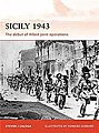 Sicily 1943 The Debut of Allie -- Military History Book -- #cam251