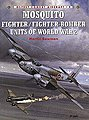 Mosquito Fighter/Bomber WWII -- Military History Book -- #com9