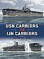 USN Carriers vs IJN Carriers the Pacific 1942 -- Military History Book -- #d6