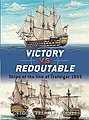 Victory vs Redoutable Ships of the Line at Trafalgar 1805 -- Military History Book -- #d9