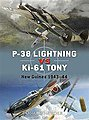 P-38 Lightning Vs Ki-61 Tony -- Military History Book -- #due26