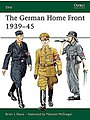 The German Home Front 1939-45 -- Military History Book -- #e157