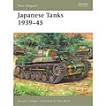 Japanese Tanks 1939-45 -- Military History Book -- #nvg137
