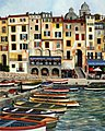 Villa View in Venice Italy(16''x20'') -- Paint By Number Kit -- #22048