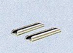 (bulk of 12) Universal Rail Joiners Code 55/80 Nickel Silver pkg(24) -- Model Train Track -- N Scale -- #1711