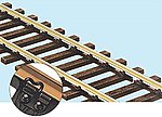 (bulk of 12) Code 143 US Profile Wooden Tie Flex Track -- Model Train Track -- O Scale -- #70062