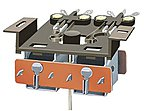 PL 15 Twin Micro Switch Kit for PL10 -- Model Railroad Electrical Accessory -- #pl15