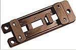 Mounting Plates for Switch Machine (5) -- Model Track Accessory -- #pl9