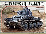PzKpfw 38(T) Ausf E/F Tank (New Tool) (JUN) -- Plastic Model Tank Kit -- 1/16 Scale -- #16001