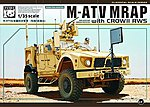 M-ATV MRAP Military Truck (MRAP) Military Truck & Crow II -- Military Vehicle Kit -- 1/35 -- #35007