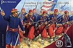 American Civil War Zouaves 1861-65 (42) -- Plastic Model Military Figure -- 28mm -- #103