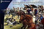 French Napoleonic Heavy Cavalry 1812-15 (14 Mtd) -- Plastic Model Military Figure -- 28mm -- #202