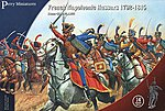French Napoleonic Hussars 1792-15 (14 Mtd) -- Plastic Model Military Figure -- 28mm -- #204