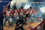 British Napoleonic Line Infantry 1808-15 (40) -- Plastic Model Military Figure -- 28mm -- #501