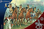 British Napoleonic Dragoons 1808-15 (14 Mounted) -- Plastic Model Military Figure -- 28mm -- #503