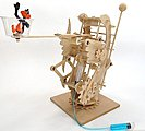 Hydraulic Gearbot Wooden STEM Activity Kit