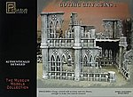 Gothic City Building Ruins Set #1 -- Plastic Model Building Kit -- 28mm Scale -- #4930