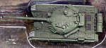 T72M1 Soviet Tank (Assembled) -- Pre-Built Plastic Model -- 1/144 Scale -- #610