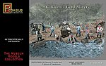 California Gold Miners (14) -- Plastic Model Cowboy and Indian -- 1/48 Scale -- #7007