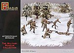 WWII Russian Infantry Winter Dress (40) -- Plastic Model Military Figure -- 1/72 Scale -- #7269