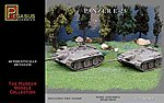 German Panzer E25 Tank (2) (Snap) -- Plastic Model Military Vehicle Kit -- 1/72 Scale -- #7602