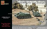 Soviet Su85M/100 Tank Destroyer (2) (Snap) -- Plastic Model Military Kit -- 1/72 Scale -- #7663