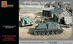 Soviet Su122 Self-Propelled Howitzer (2) (Snap) -- Plastic Model Military Kit -- 1/72 Scale -- #7664