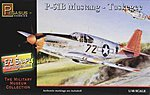 E-Z Snapz P-51B Mustang Tuskegee -- Snap Tite Plastic Model Aircraft Kit -- 1/48 Scale -- #8404