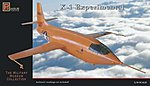 Bell X1 Aircraft -- Plastic Model Airplane Kit -- 1/18 Scale -- #8802