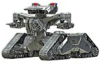 Terminator 2 Hunter Killer Tank -- Plastic Model Fantasy Figure Kit -- 1/32 Scale -- #9015