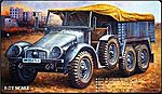 WWII German Krupp Protze Kfz.70 -- Plastic Model Military Vehicle Kit -- 1/72 Scale -- #c7207