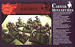 Caesar Ratmen -- Plastic Model Fantasy Figure -- 1/72 Scale -- #f108