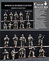 Modern US Soldiers in Action -- 1/72 Scale Plastic Model Military Figure -- #hb11