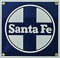 Sign ATSF 8 x 8''