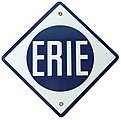 Sign ERIE 8 x 8''